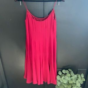 Maggy London 100% Silk dress sz 6